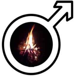 Logo Männerkreis ums Feuer